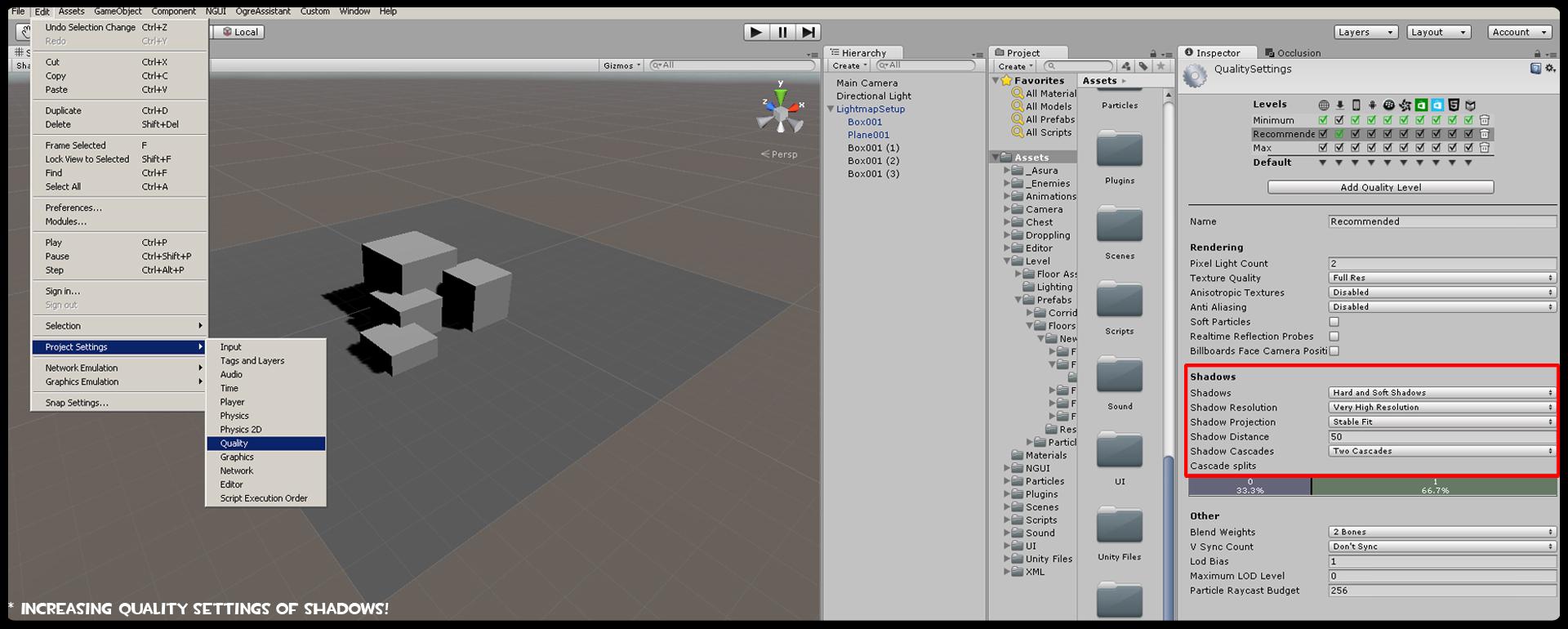 Game Dev Tip: How to bake Lightmap in Unity 5 ! - Ogre Head Studio